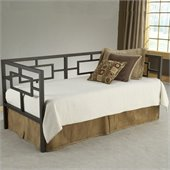 Hillsdale Chloe Metal Daybed with Trundle in Bronze Finish