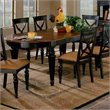 ADD TO YOUR SET: Hillsdale Northern Heights Casual Dining Table in Black and Cherry