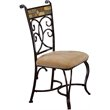 ADD TO YOUR SET: Hillsdale Pompei Fabric Side Chair (Set of 2)