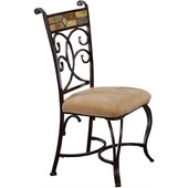 Hillsdale Pompei Fabric Side Chair (Set of 2)