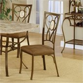 Hillsdale Brookside Oval Back Fabric Side Chair (Set of 2)