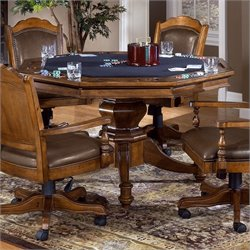 Hillsdale Nassau Game Table in Black