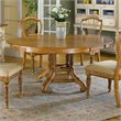 ADD TO YOUR SET: Hillsdale Wilshire Round Casual Dining Table in Pine Finish