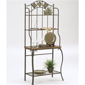 Hillsdale Lakeview Bakers Rack - Slate