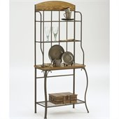 Hillsdale Lakeview Bakers Rack - Wood