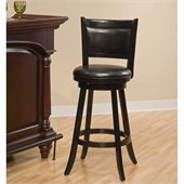 Hillsdale Dennery Swivel Bar Stool
