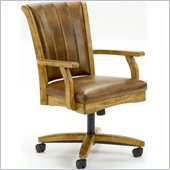 Hillsdale Grand Bay Dining Arm Chair in Medium Oak
