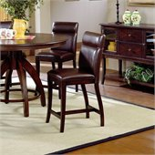 Hillsdale Nottingham Curved Counter Height Stools (Set Of 2)