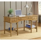 Hillsdale Gresham Desk In Medium Oak