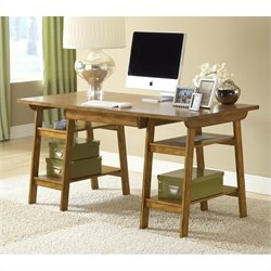 Hillsdale Parkglen Desk In Medium Oak