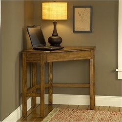 Hillsdale Solano Corner Desk in Medium Oak