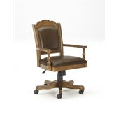 Hillsdale Nassau Game Chair with Leather Back