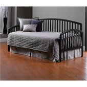 Hillsdale Carolina Wood Daybed in Black Finish