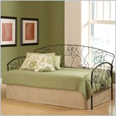 Hillsdale Rose Daybed in Aged Steel Finish