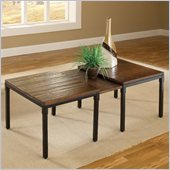 Hillsdale Granada Expandable Cocktail Table in Dark Chestnut/Brown