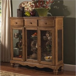 Hillsdale Hamptons Server in Weathered Pine