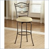 Hillsdale Harbour Point 30 Double Circle Swivel Bar Stool