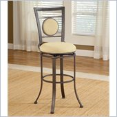 Hillsdale Harbour Point 26 Swivel Counter Stool in Golden Bronze