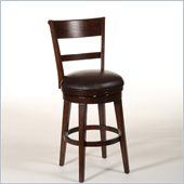 Hillsdale Park Avenue 26 Swivel Counter Stool in Cabernet