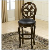 Hillsdale Rosalee 24 Swivel Counter Stool in Distressed Cherry