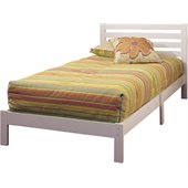 Hillsdale Aiden Twin Bed Set in White
