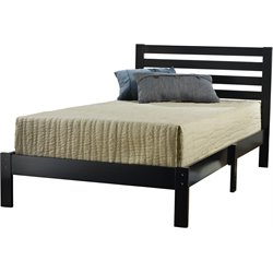 Hillsdale Aiden Twin Bed Set in Black