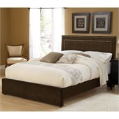 Hillsdale Amber Bed in Chocolate