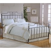 Hillsdale Amelia Bed in Frosted Black