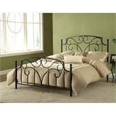 Hillsdale Cartwright Bed in Magnesium Pewter