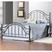 Hillsdale Clayton Bed in Matte Brown