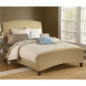 Hillsdale Edgerton Bed in Beige Tweed