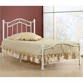 Hillsdale Gavin Twin Bed in White