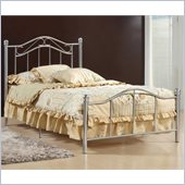 Hillsdale Gavin Twin Bed in Silver