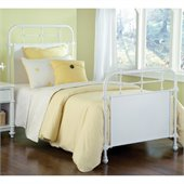 Hillsdale Kensington Bed in Textured White