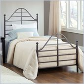 Hillsdale Trenton Bed in Magnesium Pewter