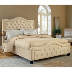 Hillsdale Trieste Fabric Bed in Buckwheat