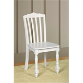 Hillsdale Lauren Chair in White