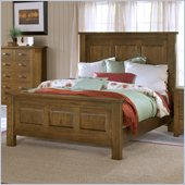 Hillsdale Outback Panel Bed in Distressed Chestnut