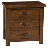 Hillsdale Outback Nightstand in Distressed Chestnut