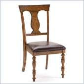 Hillsdale Arlington Dining Chairs in Weathered Brown (Set of 2)