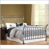 Hillsdale Markam Sleigh Bed in Antique Nickel