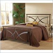 Hillsdale Marquette Bed in Brushed Copper