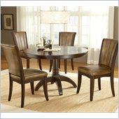 Hillsdale Grand Bay 5 Piece Round Dining Set in Cherry