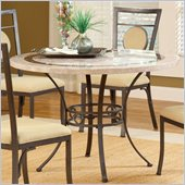 Hillsdale Harbour Point 45 Round Dining Table in Golden Bronze