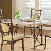 Hillsdale Harbour Point Octagonal Dining Table in Golden Bronze