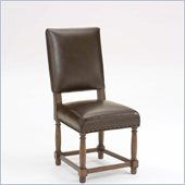 Hillsdale Hartland Dining Side Chair in Dark Oak
