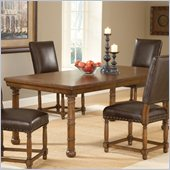 Hillsdale Hartland Dining Table in Dark Oak