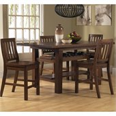Hillsdale Outback 5 Piece Counter Height Dining Set