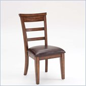 Hillsdale Villagio Ladder Back Chairs in Dark Chestnut (set of 2)