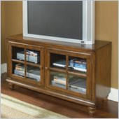 Hillsdale Grand Bay 48 Entertainment Console in Warm Brown